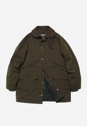 FRIZMWORKS프리즘웍스 Traveler hunting jacket _ olive