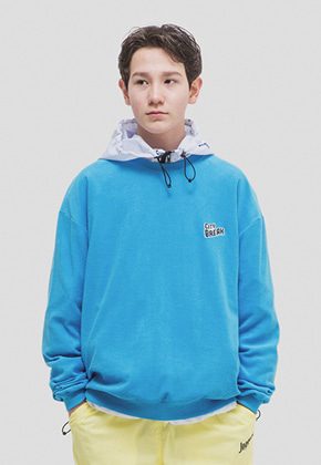 WKNDRS위캔더스 CITY BREAK CREWNECK (BLUE)