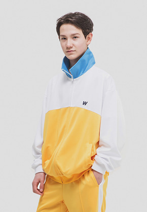WKNDRS위캔더스 WKNDRS TRACK JACKET (YELLOW)