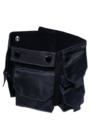 MPQ엠피큐 MULTI POCKET_TECHNICAL ARM BAND (BLACK)