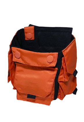 MPQ엠피큐 MULTI POCKET_TECHNICAL ARM BAND (B/ORANGE)