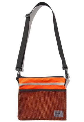 Kruchi크루치 Scotch Sacoche Bag -  (Orange)