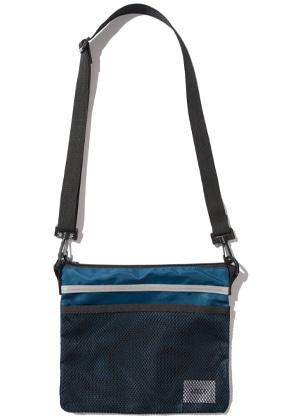 Kruchi크루치 Scotch Sacoche Bag -  (Blue Green)