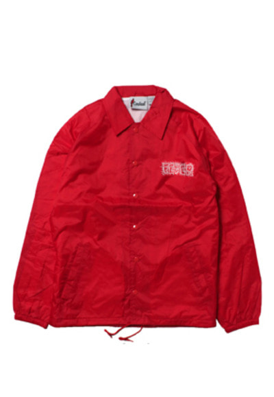 FEVER피버 CALDINAL X FEVER COACH JACKET_RED