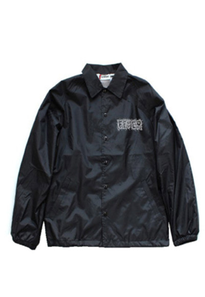 FEVER피버 CALDINAL X FEVER COACH JACKET_BLACK