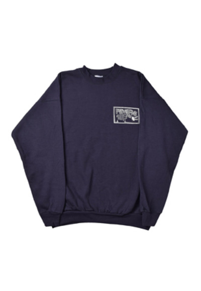 FEVER피버 FLAMEHAND FEVERS SWEATSHIRTS_NAVY