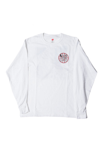 FEVER피버 FEVER CROSS LOGO TEE_WHITE