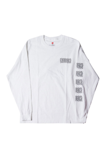 FEVER피버 ELECTRIC FEVER LOGO TEE_WHITE