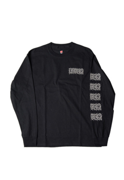 FEVER피버 ELECTRIC FEVER LOGO TEE_BLACK