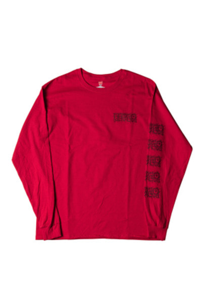 FEVER피버 ELECTRIC FEVER LOGO TEE_RED