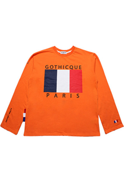 Gothicque고티크 Overfit french t-shirt [G7FA01U50F]