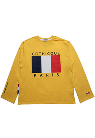 Gothicque고티크 Overfit french t-shirt [G7FA01U24F]