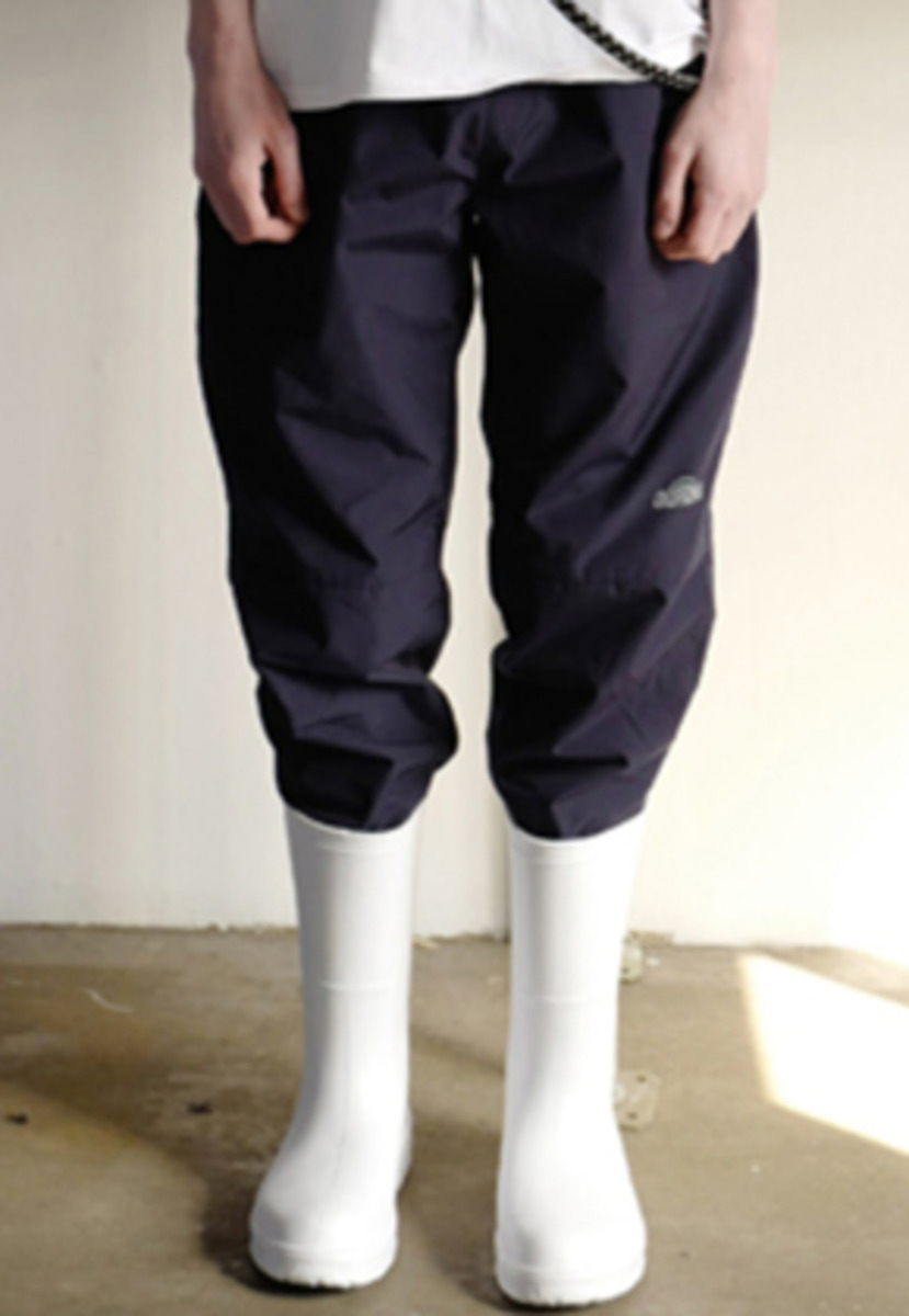 Choisi쵸이지 Stopper Detail Pants, Navy