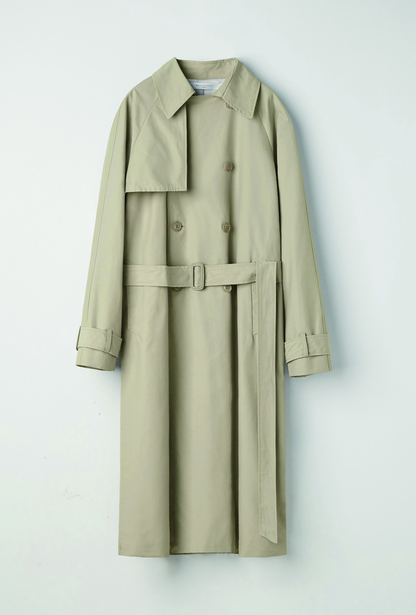 Evan Laforet에반라포레 [UNISEX] OVERSIZED TRENCH COAT BEIGE