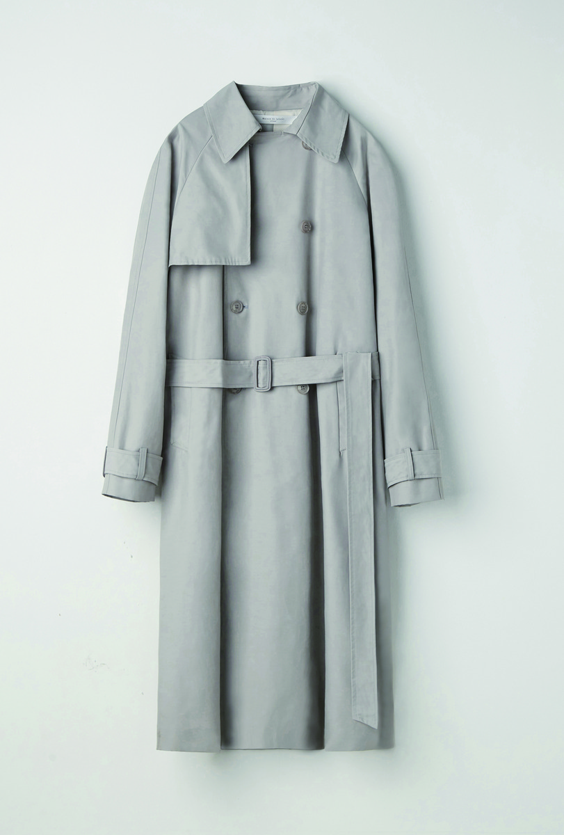 Evan Laforet에반라포레 [UNISEX] OVERSIZED TRENCH COAT GREY