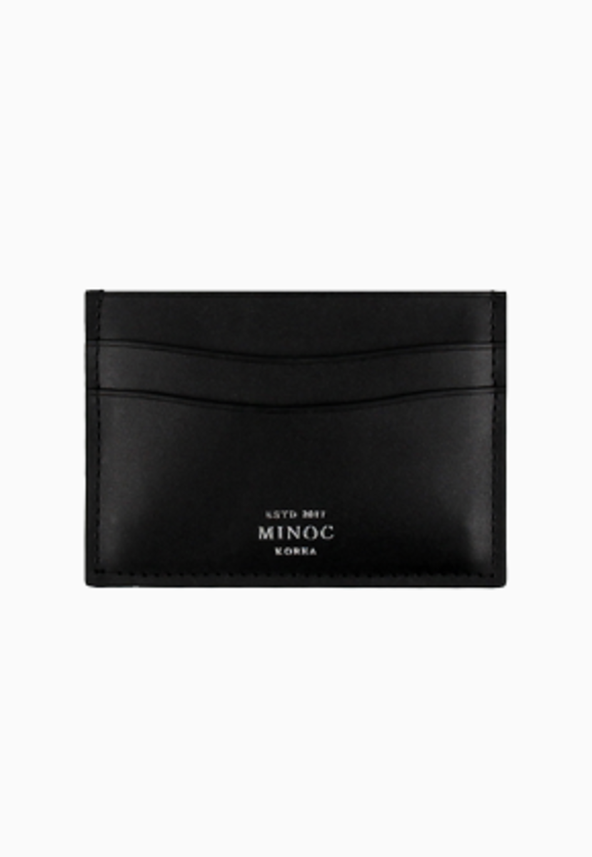 Minoc미녹 Small Card Wallet (블랙)