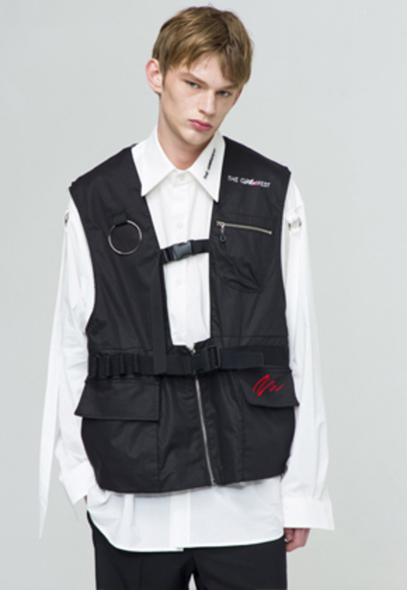 The Greatest GT18SS05 VEST BK