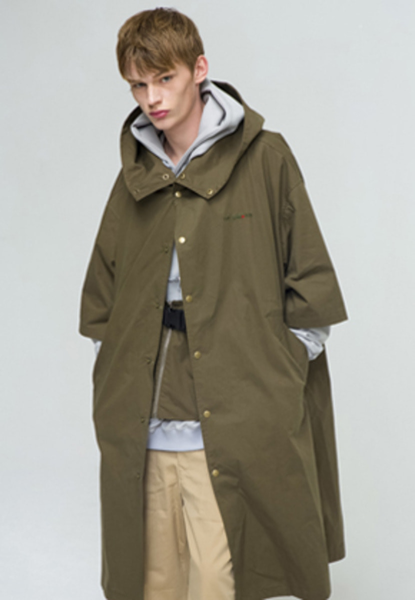 The Greatest GT18SS08 LONG FIELD JACKET