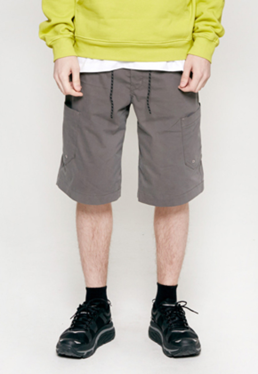 Insilence인사일런스 STRING CARGO PANTS charcole
