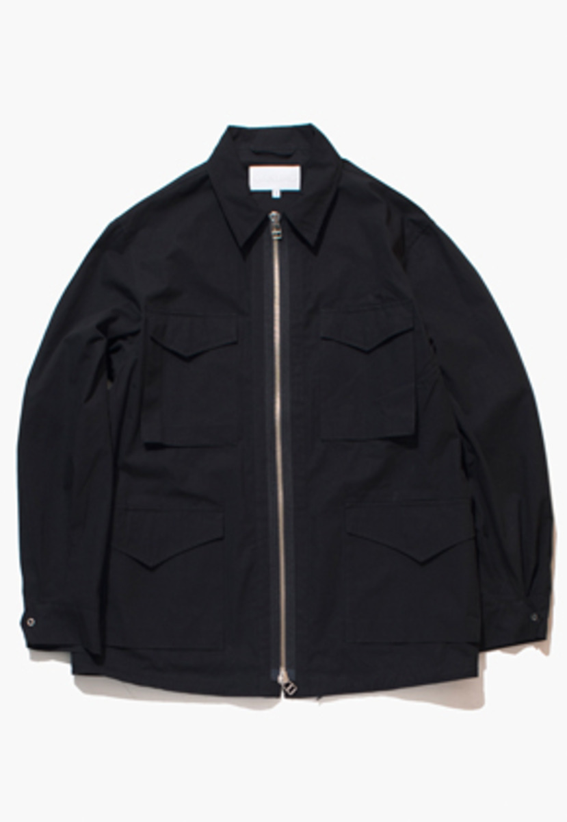 Gakuro가쿠로 Field Jacket (Black)