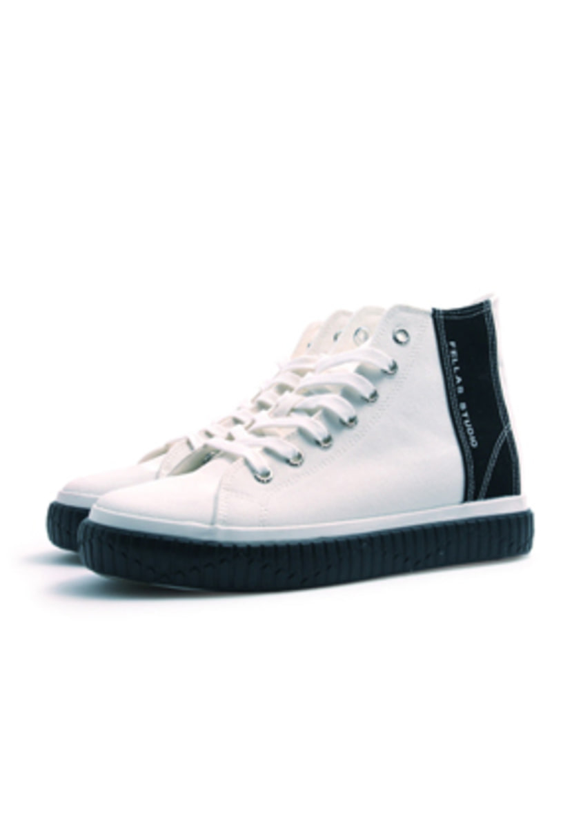 Fellas 1932펠라스 [Fellas Studio] Silhouette Hi White / Black