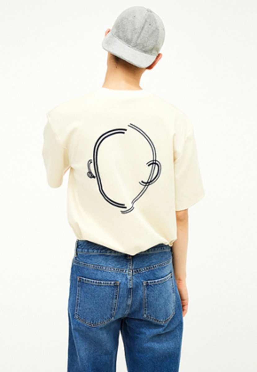SEC세크 [Unisex] Faceless T-shirt_I/N