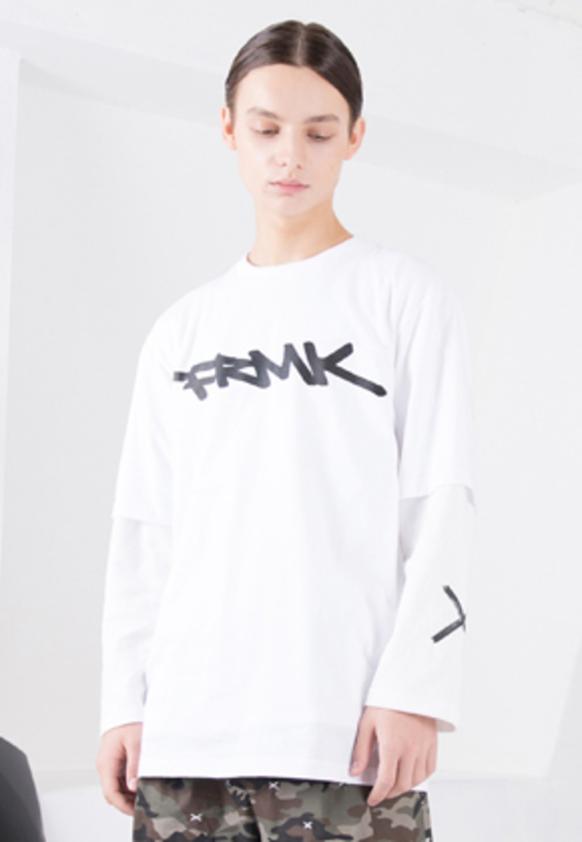 FROMMARK프롬마크 LOGO GRAPHIC T-SHIRTS WHITE
