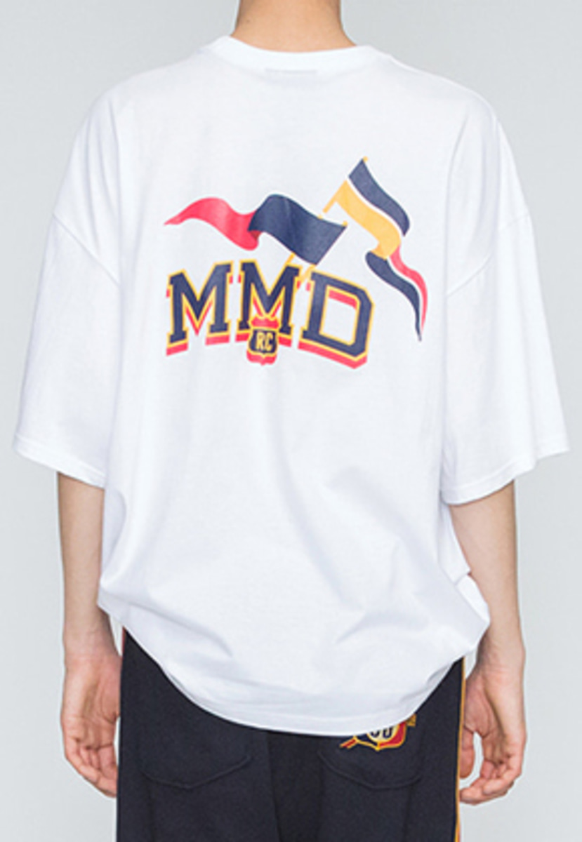 Romantic Crown로맨틱크라운 MMD Flag T Shirts_White
