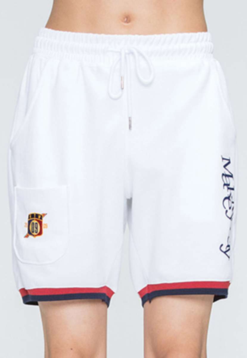 Romantic Crown로맨틱크라운 MMD Sweat Shorts_White