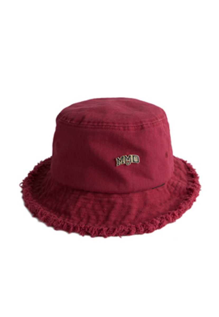 Romantic Crown로맨틱크라운 MMD Bucket Hat_Burgundy