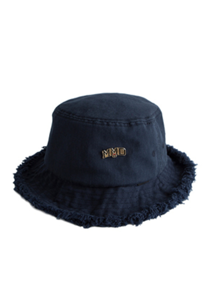 Romantic Crown로맨틱크라운 MMD Bucket Hat_Navy