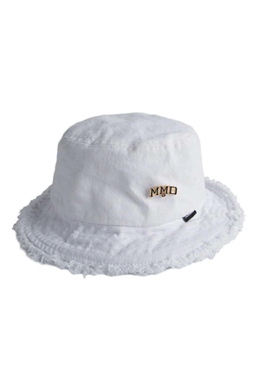 Romantic Crown로맨틱크라운 MMD Bucket Hat_White