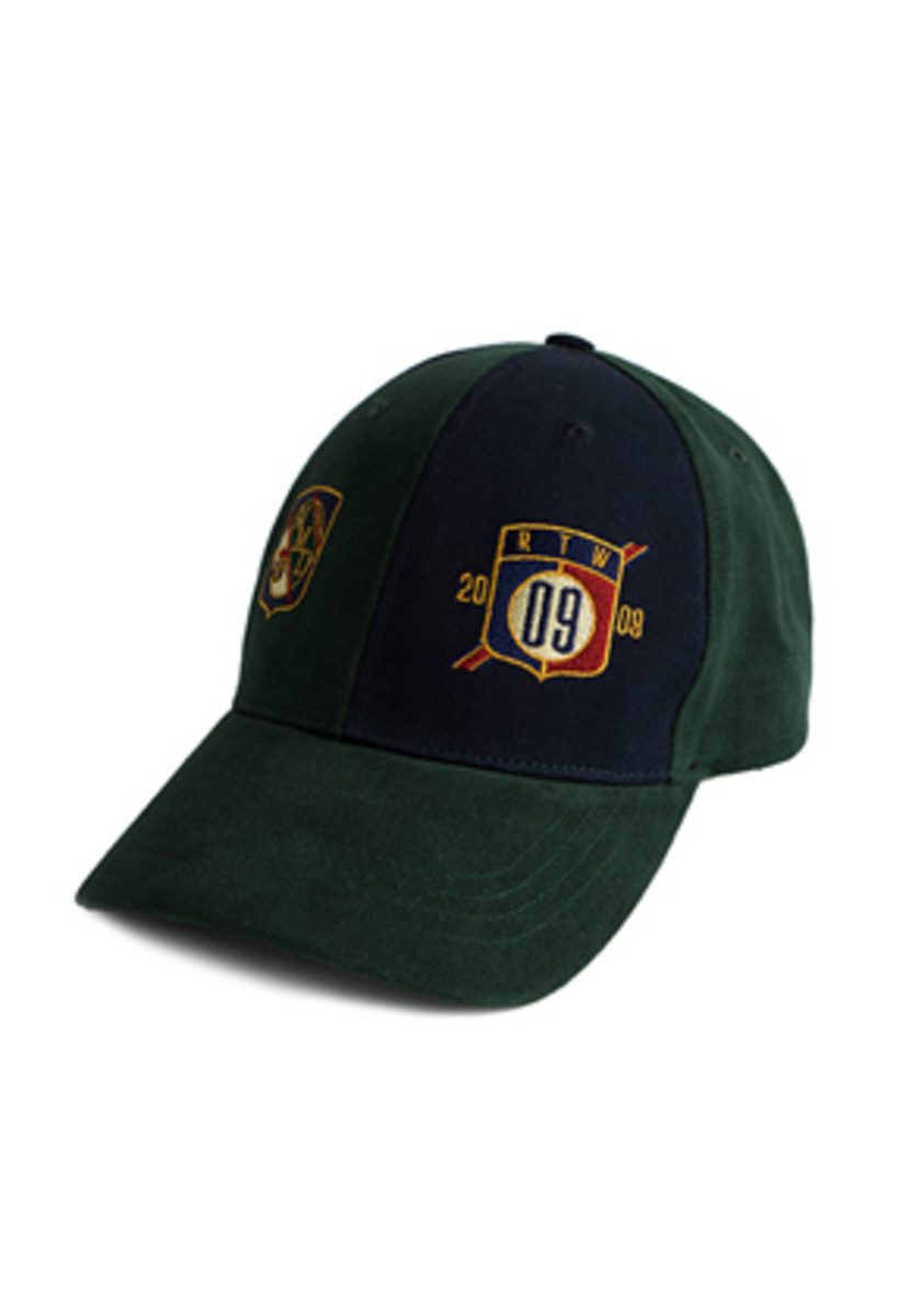 Romantic Crown로맨틱크라운 Color Block Ball Cap_Green