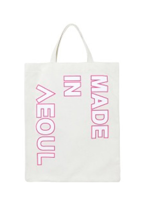 Nohant Newkidz노앙뉴키즈 MADE IN SEOUL ECO BAG PINK