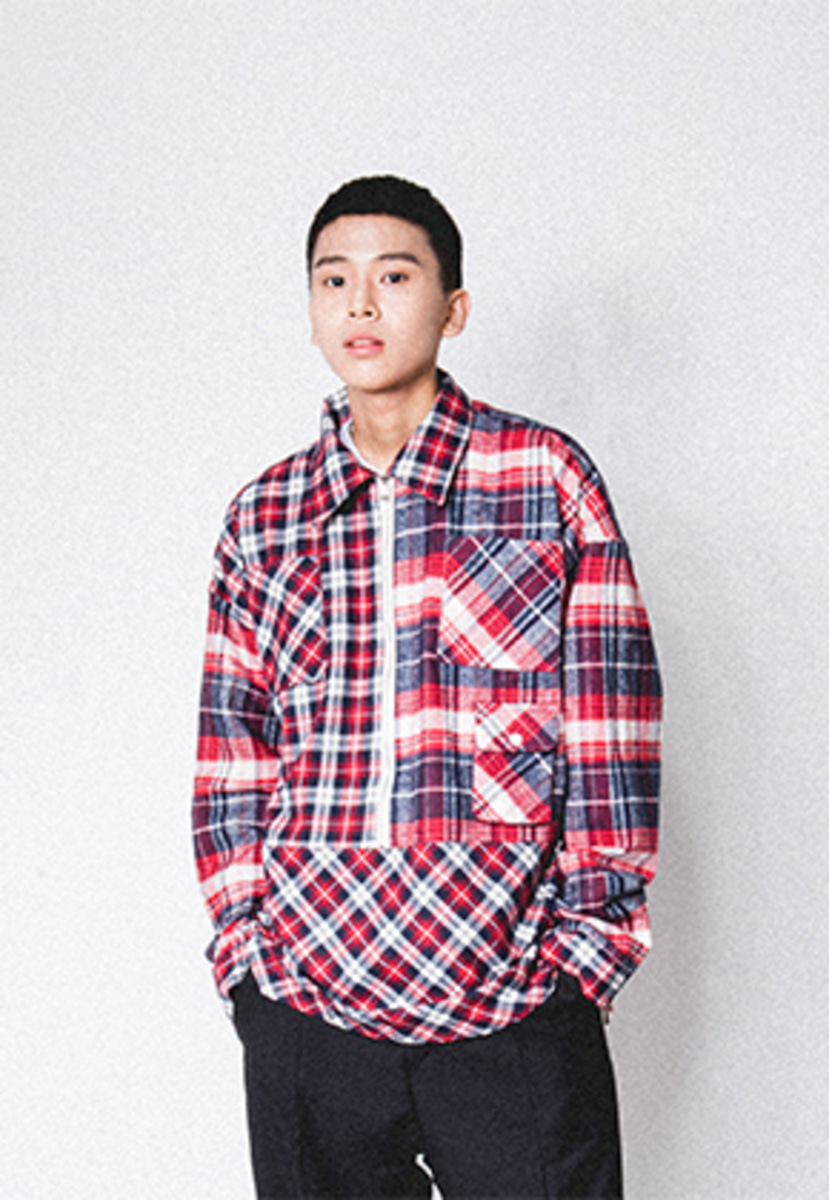 Realization리얼라이제이션 Pullover Zipper Shirts[RED]