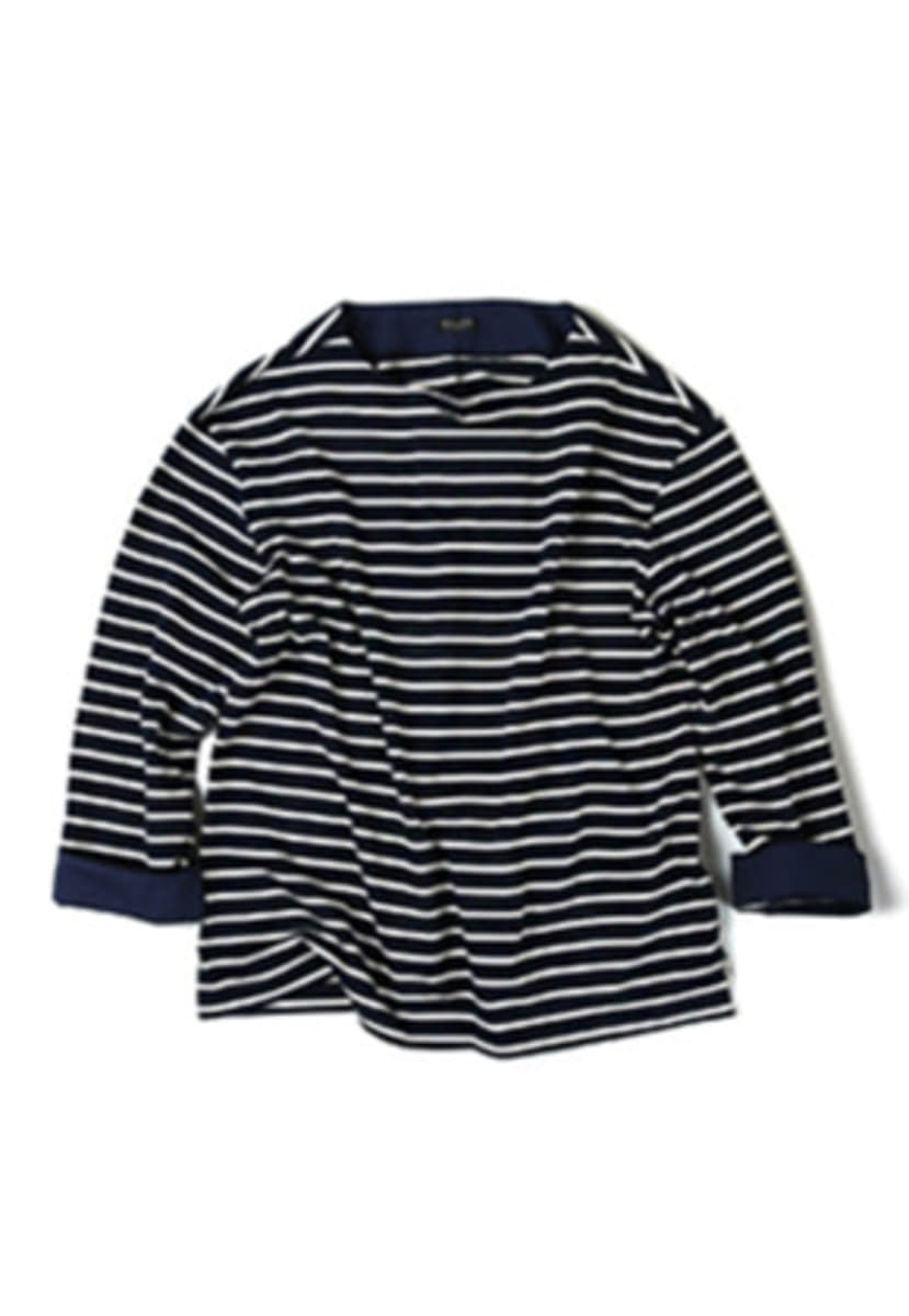 Ballute발루트 FRENCH NAVAL LONG SLEEVES (navy)