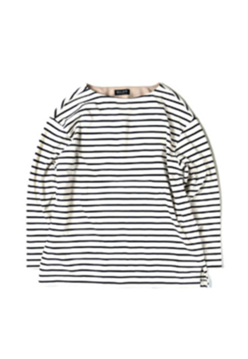 Ballute발루트 FRENCH NAVAL LONG SLEEVES (ivory)