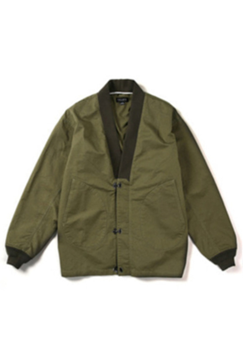 Ballute발루트 N-1 DECK ROBE JACKET (olive)