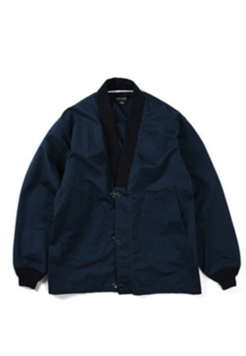 Ballute발루트 N-1 DECK ROBE JACKET (navy)
