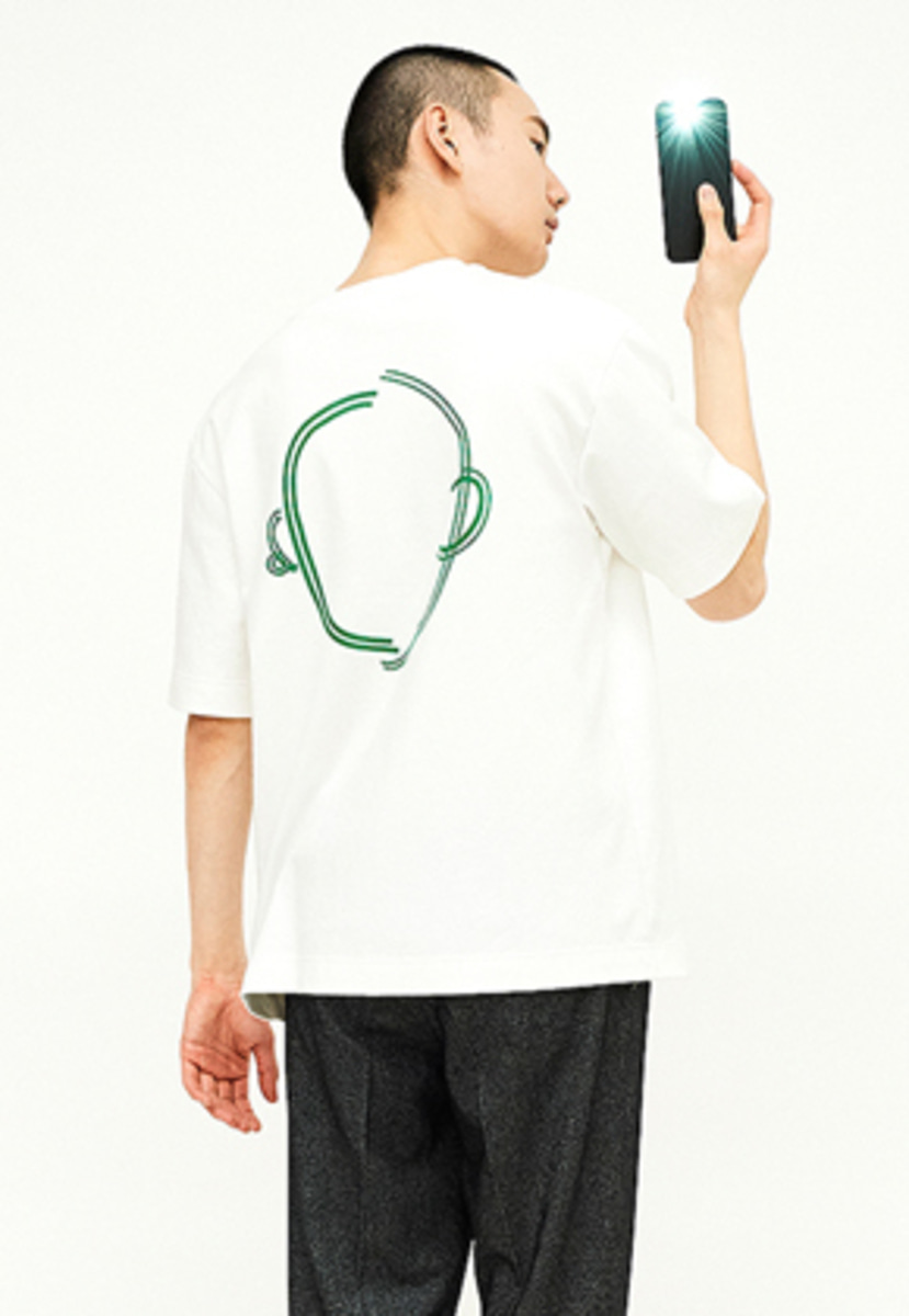 SEC세크 [Unisex] Faceless T-shirt_W/G