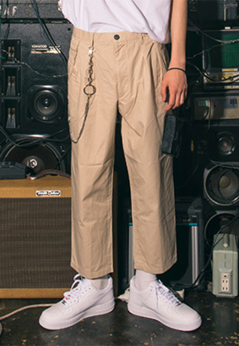 Realization리얼라이제이션 RBC Crop Trousers [BEIGE]