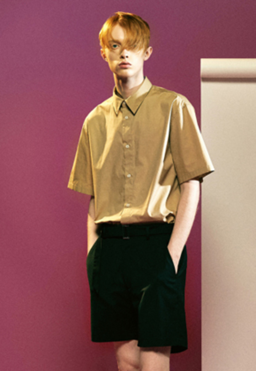 MMGL미니멀가먼츠랩 Cotton half sleeves shirts (Beige)