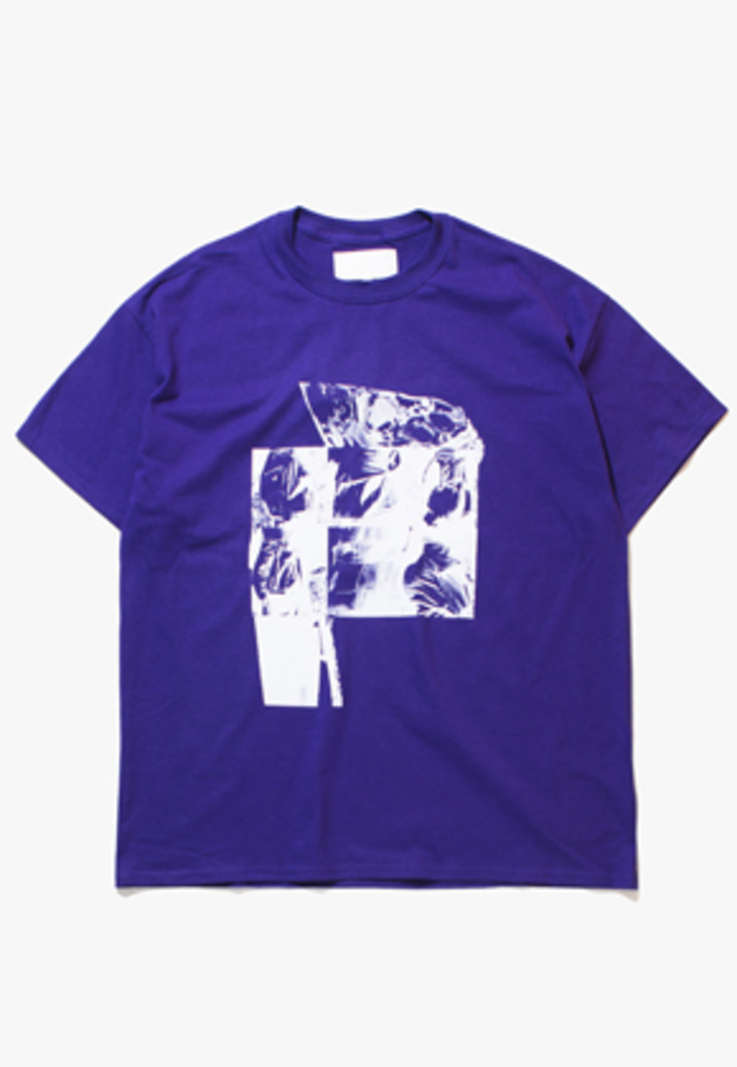 Gakuro가쿠로 'Untitled #1' T-Shirt (Purple)