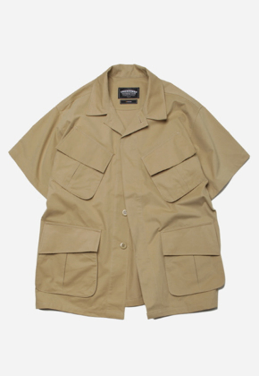 FRIZMWORKS프리즘웍스 Jungle fatigue half jacket _ beige