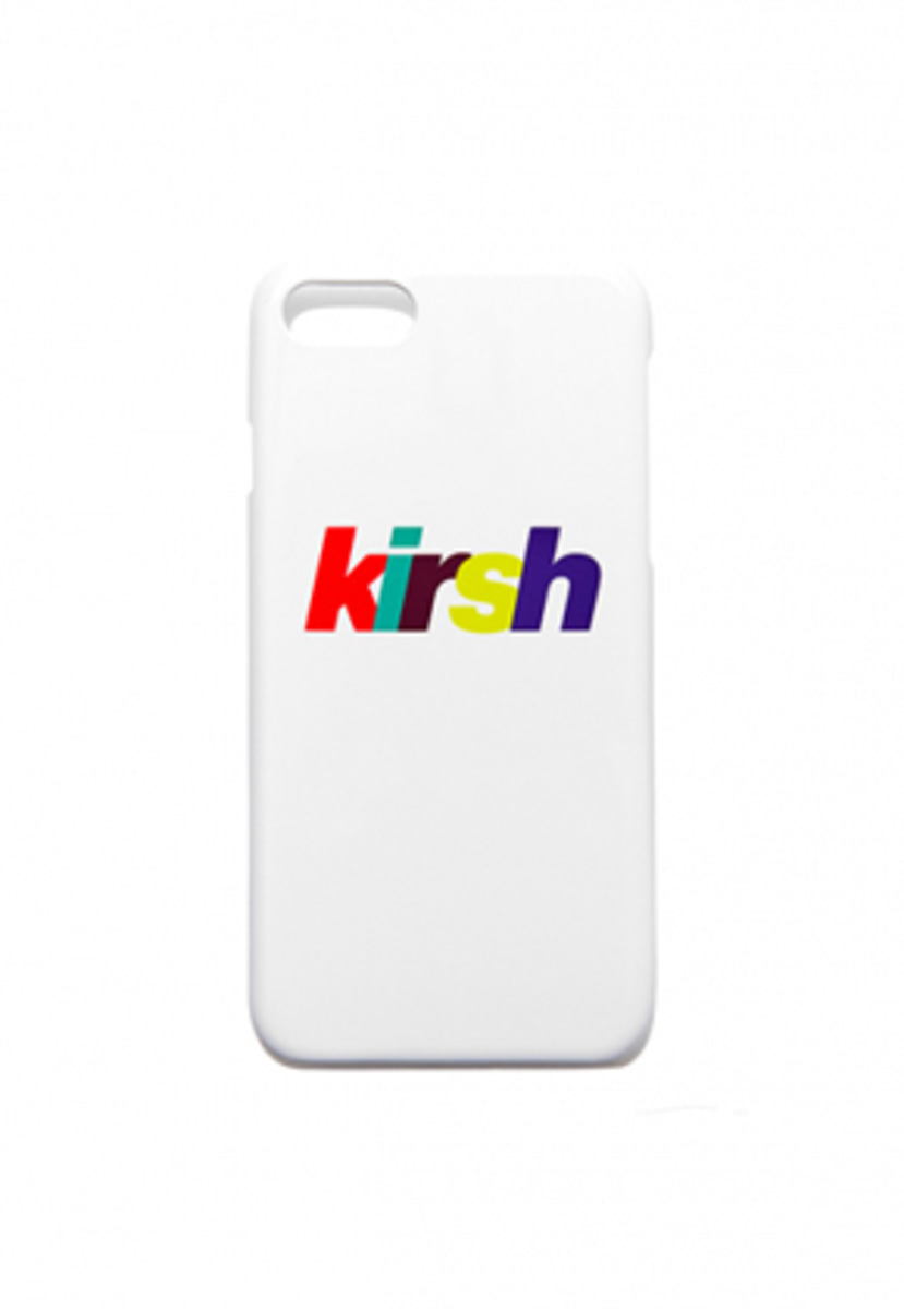 KIRSH키르시 KIRSH 키르시 RAINBOW LOGO PHONE CASE HS [WHITE]
