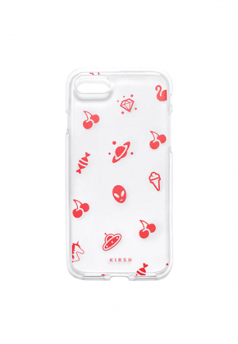 KIRSH키르시 KIRSH 키르시 CHERRY PATTERN PHONE CASE HS [RED]