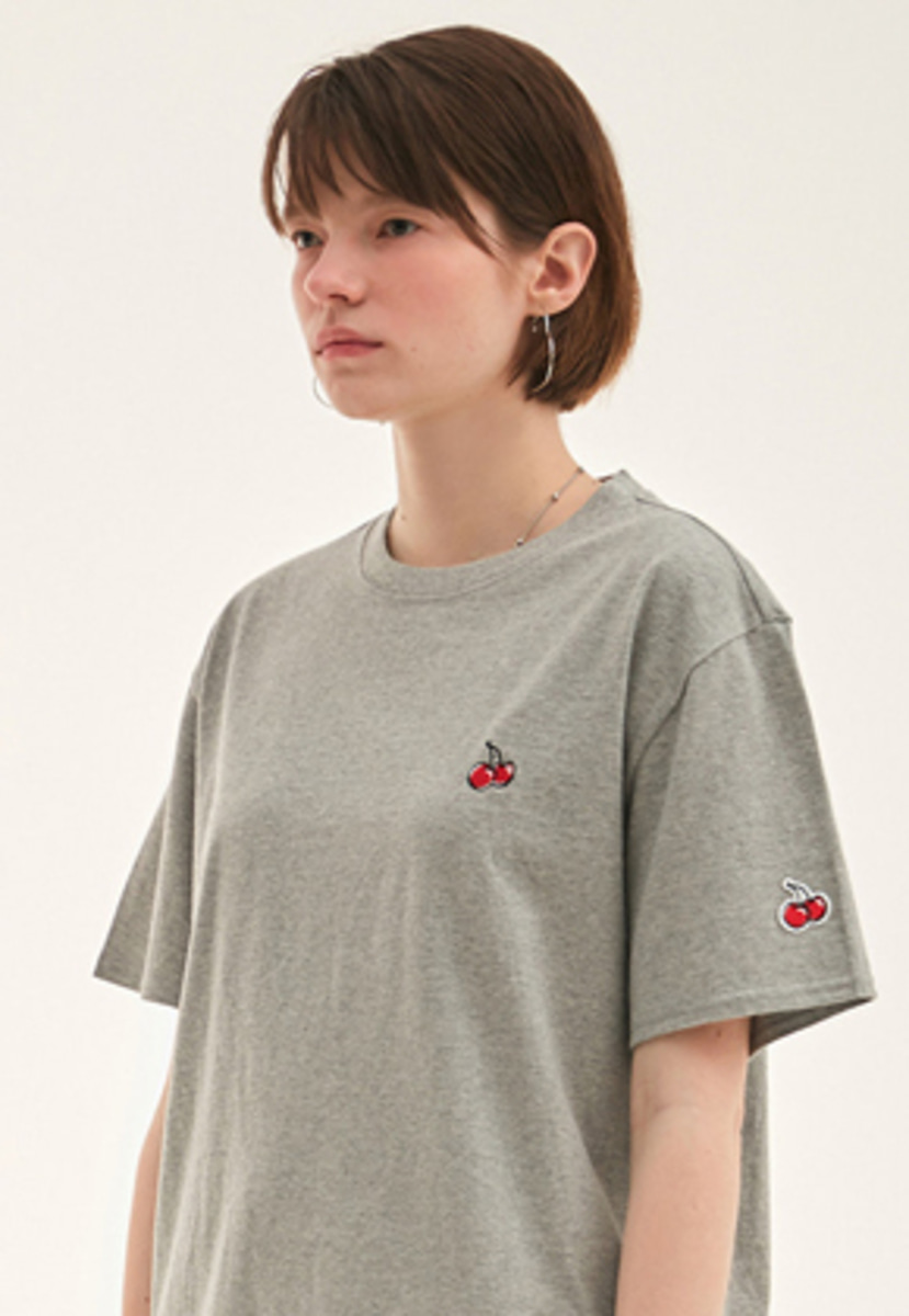 KIRSH키르시 KIRSH 키르시 KIRSH STANDARD T-SHIRT HS [GRAY]
