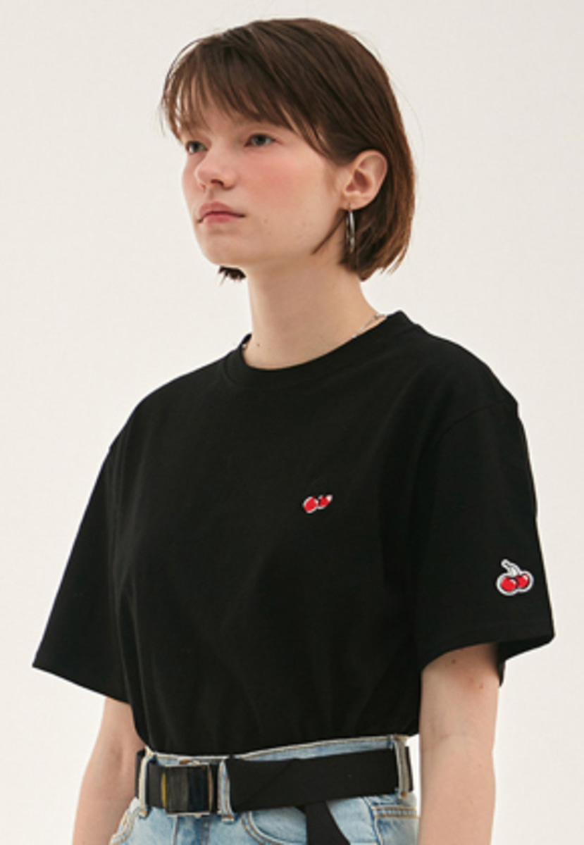 KIRSH키르시 KIRSH 키르시 KIRSH STANDARD T-SHIRT HS [BLACK]