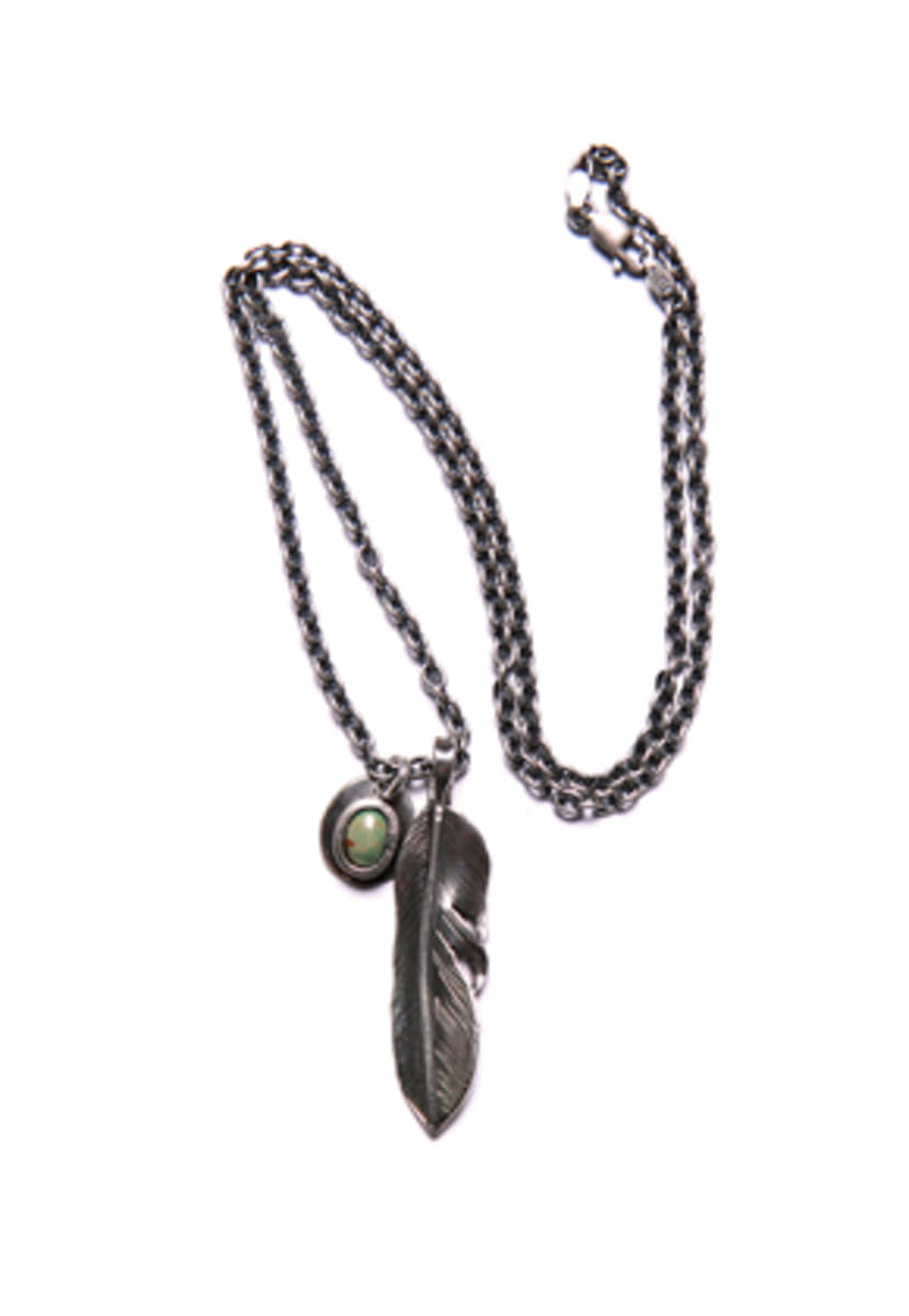 NORTH WORKS노스웍스 Liberty Feather Pendent (N-410)