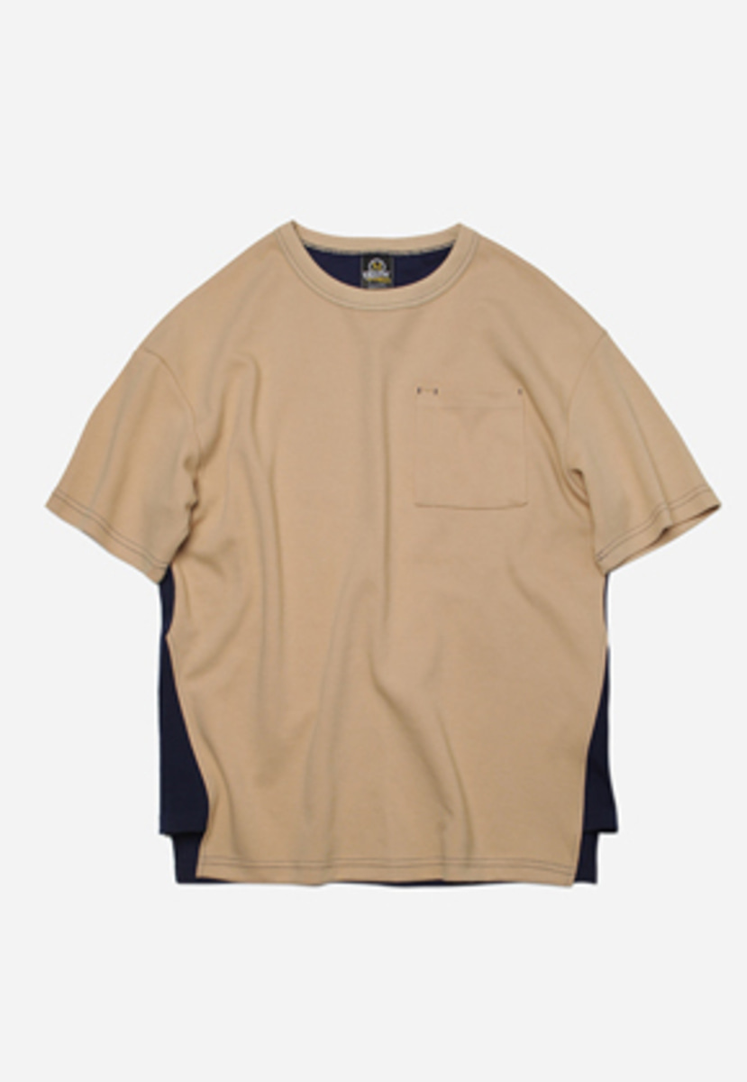 FRIZMWORKS프리즘웍스 Separate color tee _ beige